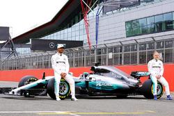 Льюіс Хемілтон, Валттері Боттас, Mercedes AMG F1, Mercedes AMG F1 W08