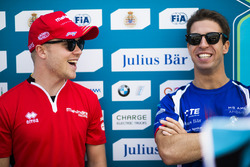 Felix Rosenqvist, Mahindra Racing. e Antonio Felix da Costa, Amlin Andretti Formula E Team.