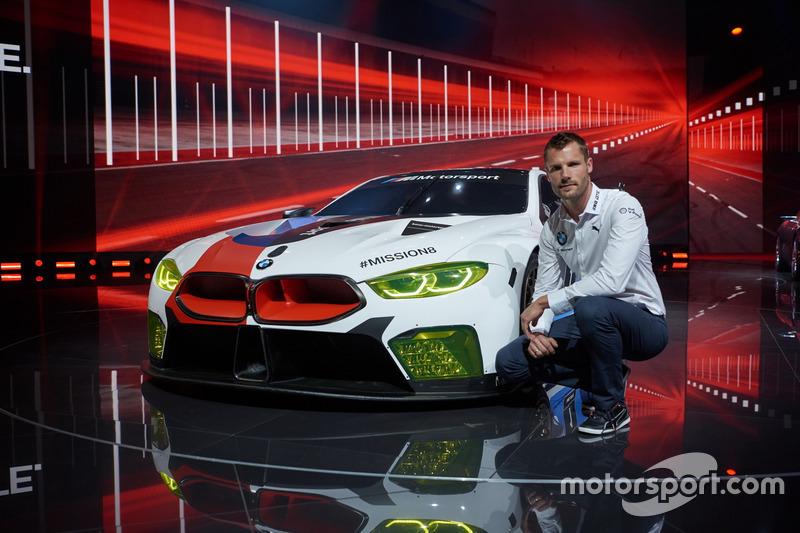 Martin Tomczyk mit dem BMW M8 GTE