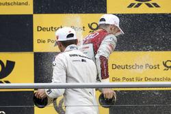 1. Jamie Green, Audi Sport Team Rosberg, Audi RS 5 DTM; 3. Marco Wittmann, BMW Team RMG, BMW M4 DTM