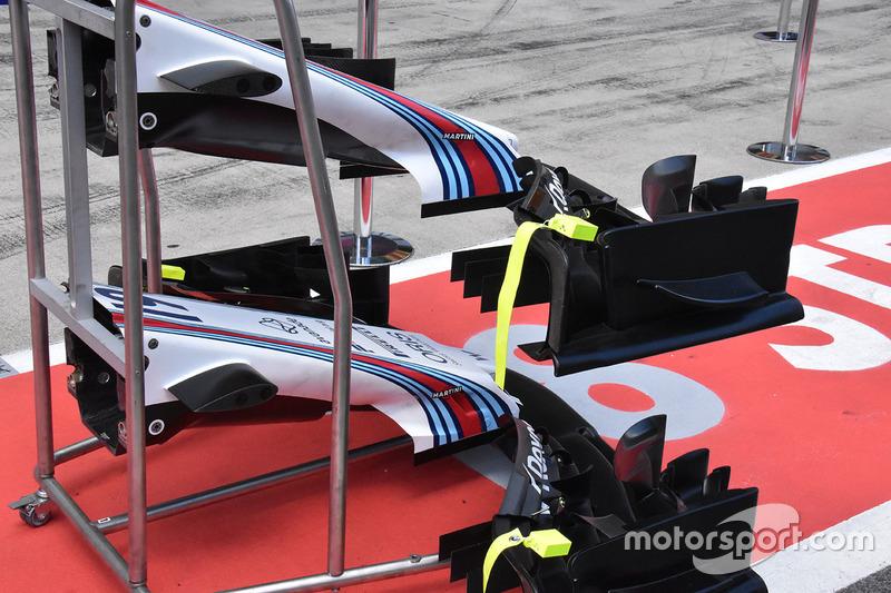 Alerón delantero del Williams FW40