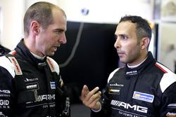 #2 Black Falcon Mercedes AMG GT3: Khaled Al Qubaisi, Jeroen Bleekemolen