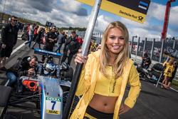 Chica de la parrilla, Ralf Aron, Hitech Grand Prix, Dallara F317 - Mercedes-Benz