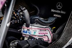 Helm von Edoardo Mortara, Mercedes-AMG Team HWA, Mercedes-AMG C63 DTM