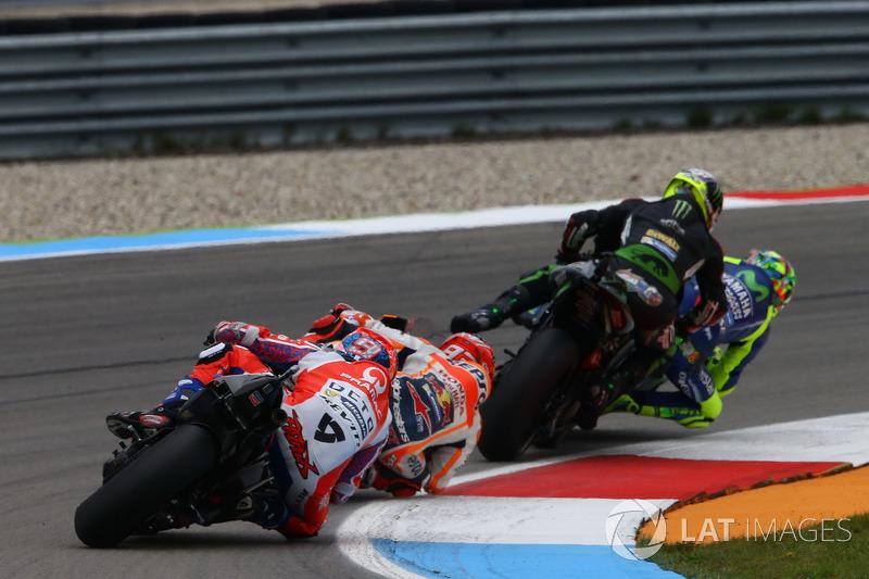 Valentino Rossi, Yamaha Factory Racing e Zarco, Monster Yamaha Tech 3