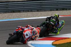 Kollision: Valentino Rossi, Yamaha Factory Racing, Johann Zarco, Monster Yamaha Tech 3, Monster Yama