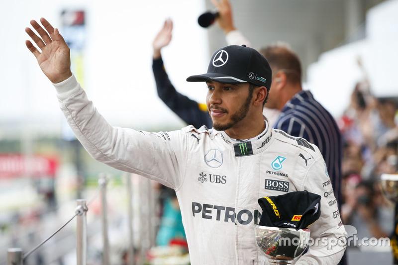 Podium: 3. Lewis Hamilton, Mercedes AMG F1