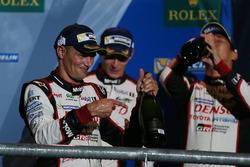 Podium: third place Stéphane Sarrazin, Toyota Racing