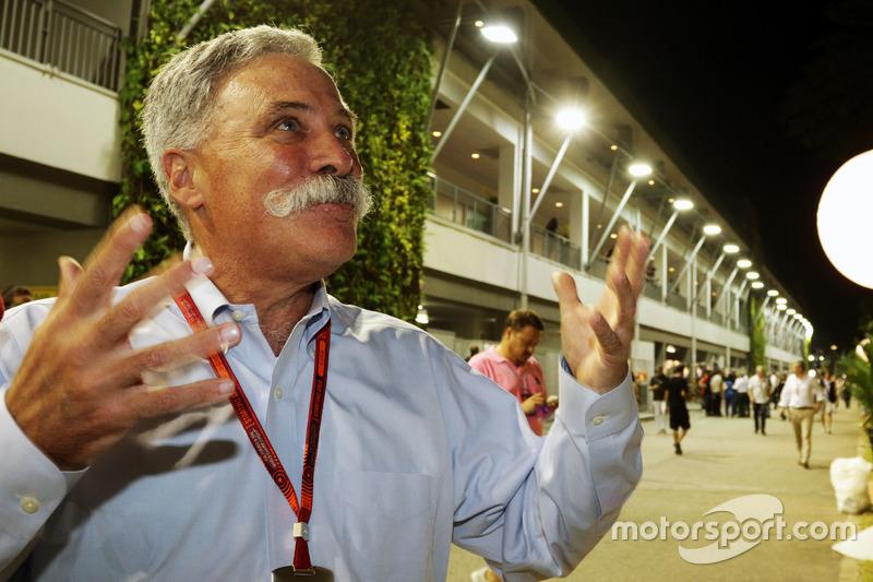 Chase Carey, Presidente Grupo Fórmula uno
