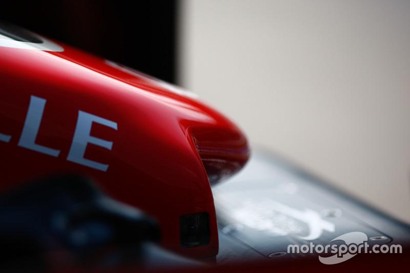 Haas F1 Team VF-16, detail