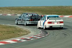 Klaus Ludwig, AMG-Mercedes; Jacques Laffite, Bigazzi M-Team