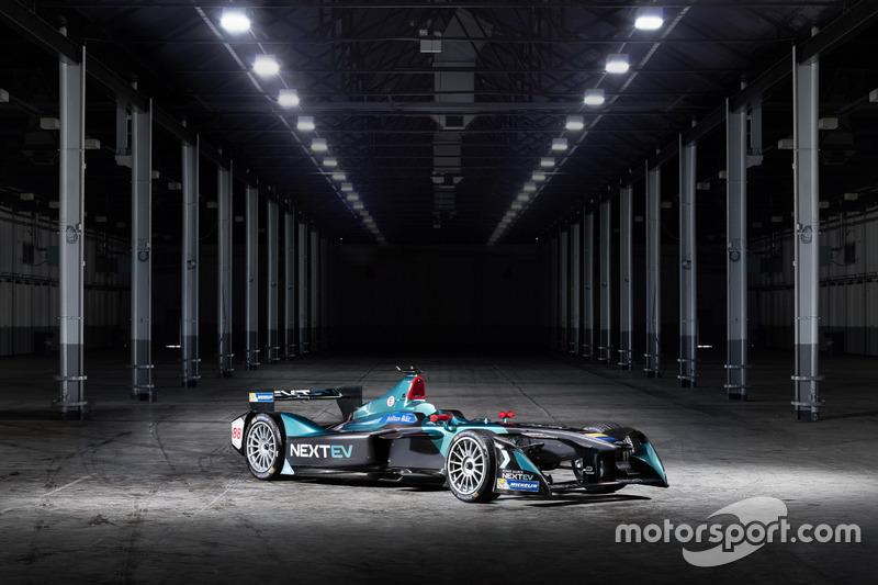 NeXTEV TCR Formula E Team car