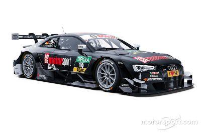 Audi RS 5 DTM livery unveil