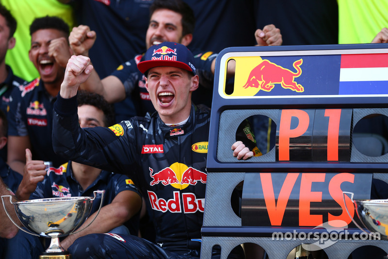 4. Макс Ферстаппен, Red Bull - 8.5