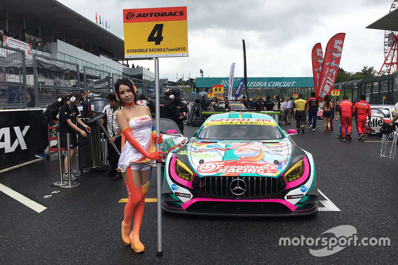 Lovely Goodsmile Racing girl
