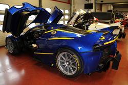 Ferrari FXX K in der Box