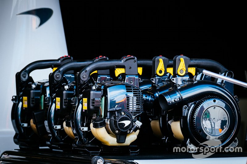 Enfriadores de McLaren