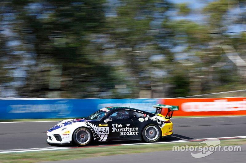 DNF: #43 Ashley Seward Motorsport Porsche 911 GT3 Cup: Danny Stutterd, Sam Fillmore, Richard Muscat
