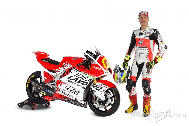 #77 Dominique Aegerter, MV Agusta Forward Racing