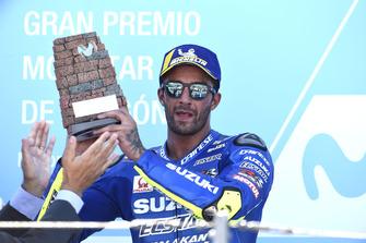 Podium: le troisième, Andrea Iannone, Team Suzuki MotoGP