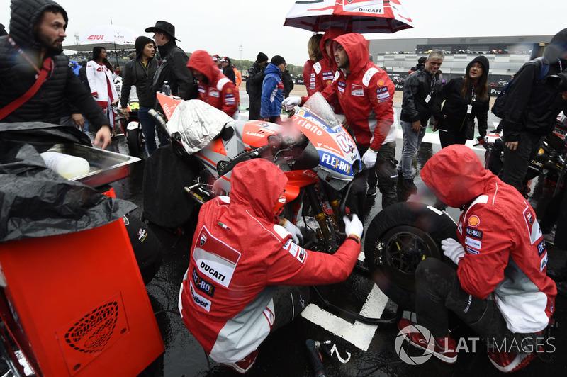 Ducati, Gran Premio de Gran Bretaña