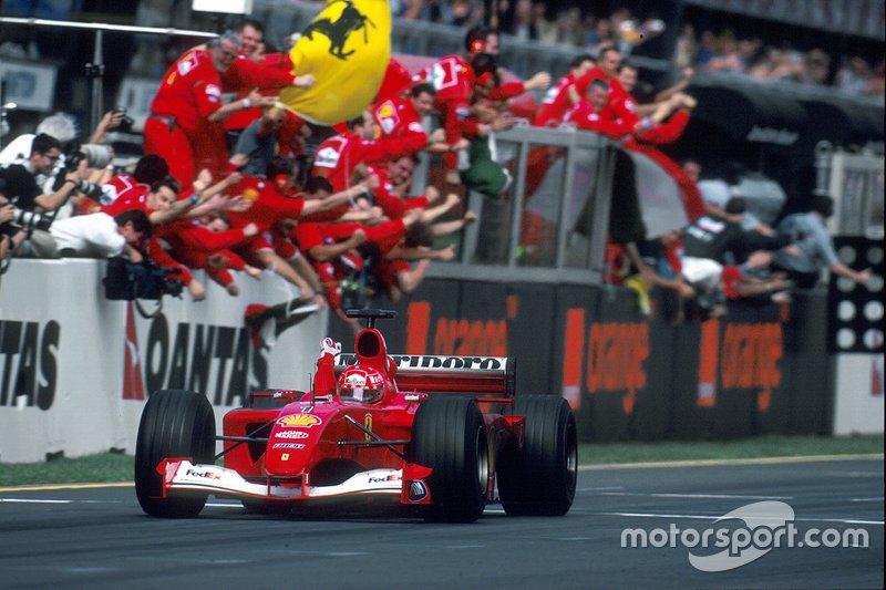 جائزة أستراليا الكبرى 2001