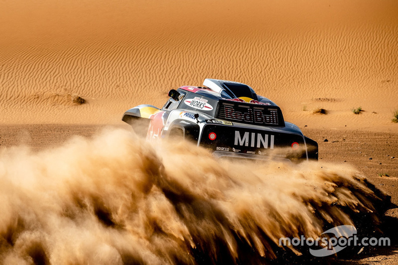 Cyril Despres, Jean-Paul Cottret, MINI John Cooper Works Buggy, X-raid MINI JCW Team