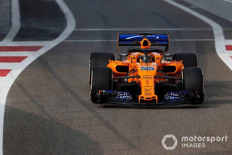 Карлос Сайнс, McLaren MCL33