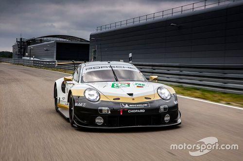 Présentation des livrées Porsche