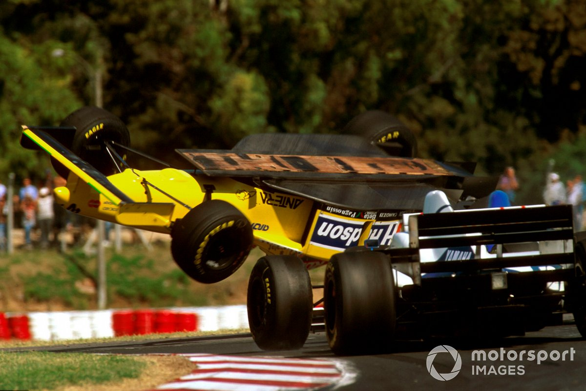 Accidente de Luca Badoer, Forti FG01 95B Ford