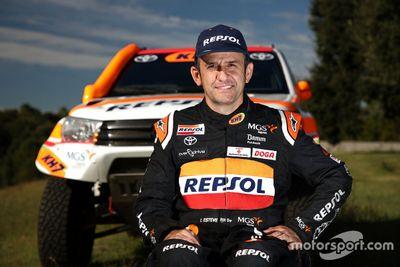 Presentación Isidre Esteve y Repsol Rally Team