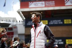 Romain Grosjean, Haas F1 lors de la parade des pilotes