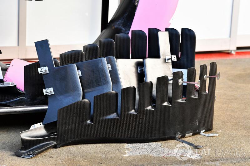 Дефлекторы Force India VJM11