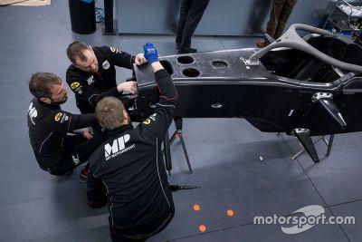 MP Motorsport car delivery
