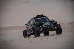 #347 Dakar Jefferies Buggy, Tim Coronel en Tom Coronel