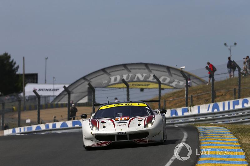 Olivier Beretta: #70 MR Racing Ferrari 488 GTE