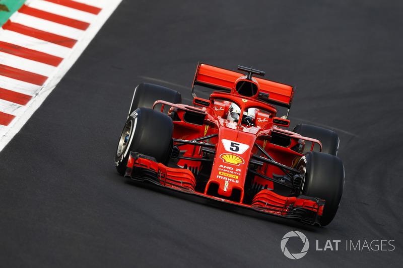 Sebastian Vettel, Ferrari SF17H