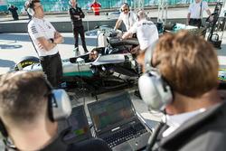 Ingegneri Mercedes AMG F1