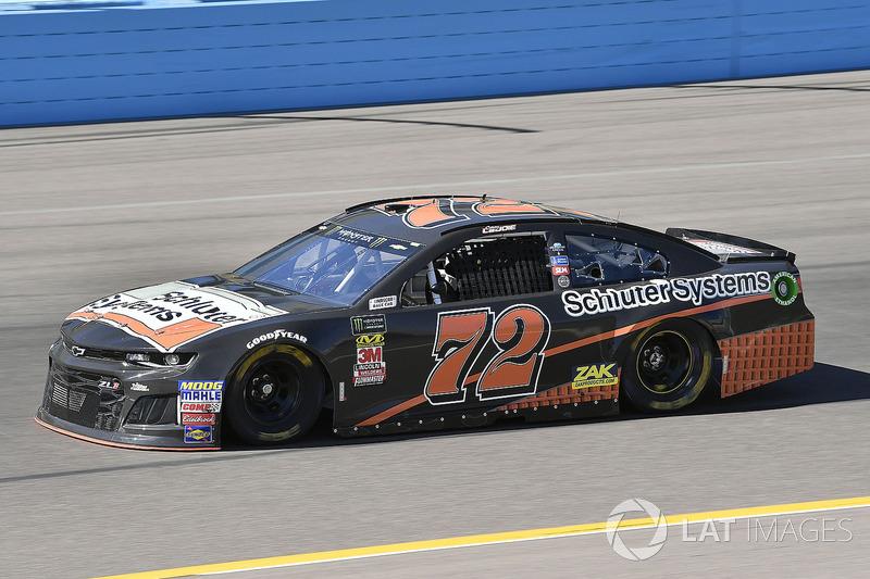 33. Corey LaJoie,  No. 72 TriStar Motorsports Chevrolet Camaro