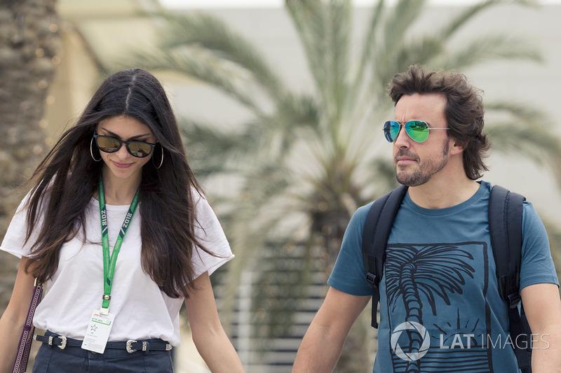Fernando Alonso, McLaren ve kız arkadaşı Linda Morselli