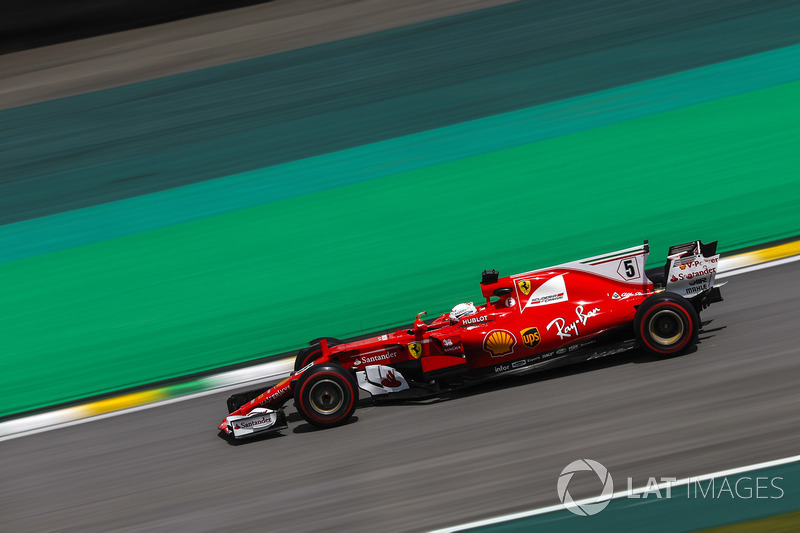 Rival de Bottas na briga pelo vice, Sebastian Vettel sai em segundo