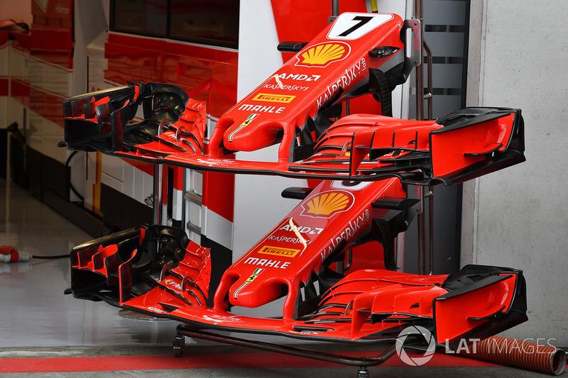 2018 Austrian Gp Scuderia Ferrari Tech Updates