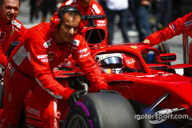 3 місце — Себастьян Феттель, Ferrari