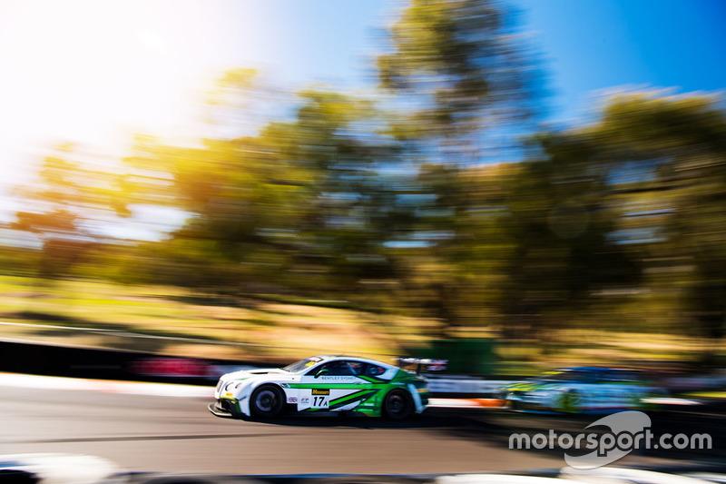 Bentley Team M-Sport, Bentley Continental GT3 (№17)