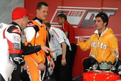 Randy Mamola, Michael Schumacher, Ducati Team, Toni Elias