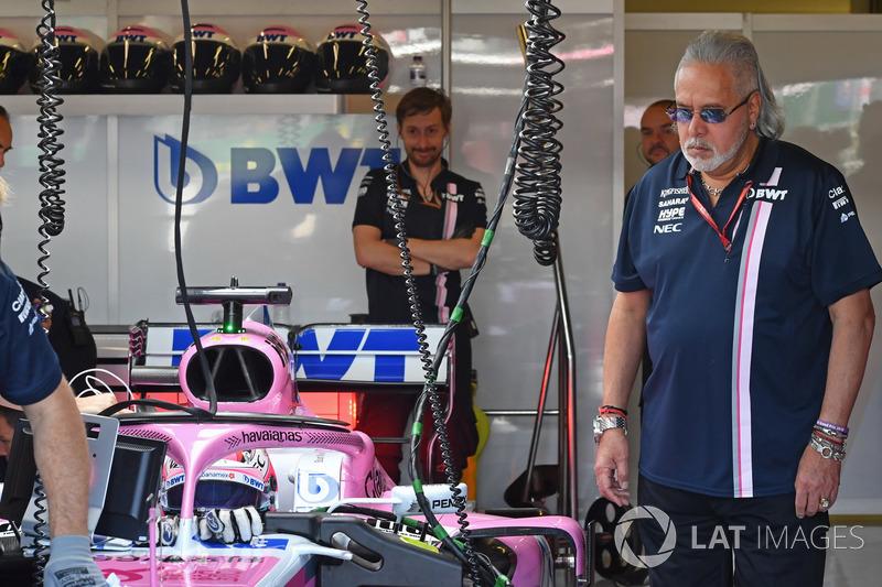 Dr. Vijay Mallya, propriétaire de Force India F1