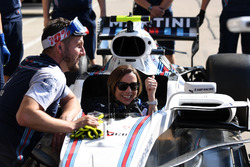 Claire Williams, Williams Deputy Team Principal in the Williams FW41
