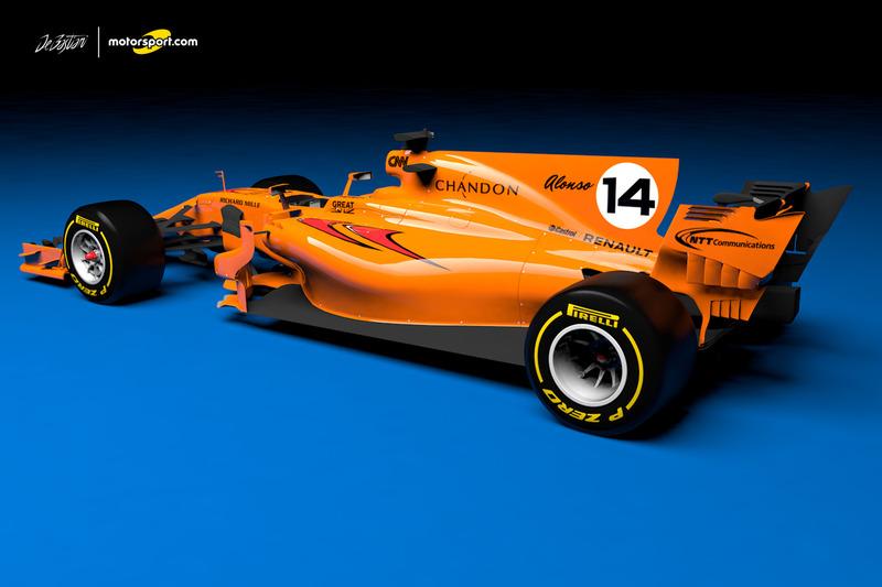 designstudie: der mclaren-renault für die formel 1 2018 - motorsport
