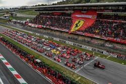 Photo de groupe Ferrari