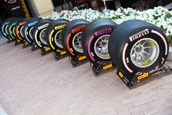 Les pneus 2018 de Pirelli